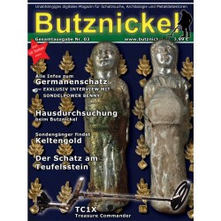 Butznickel Nr.3 Schatzsucher Magazin