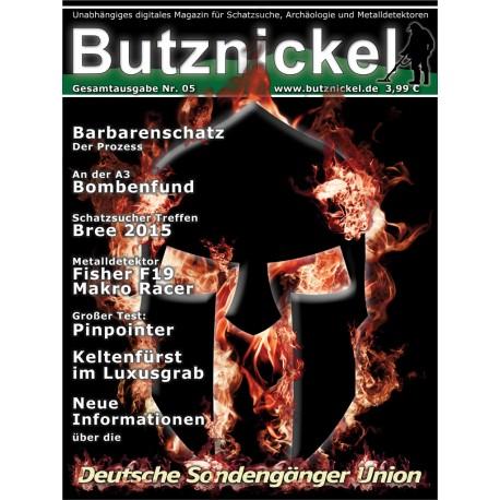 Butznickel Nr.5 Schatzsucher Magazin