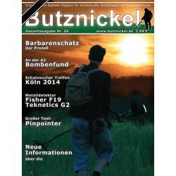 Butznickel Nr.6 Schatzsucher Magazin