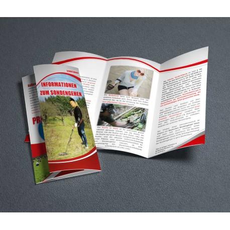 Faltblatt: Informationen zum Sondengehen 2016