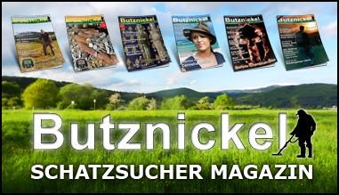 Butznickel Schatzsucher Magazine