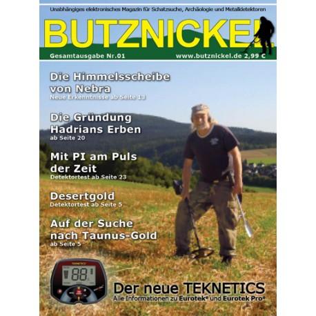 Butznickel Nr.1 Schatzsucher Magazin