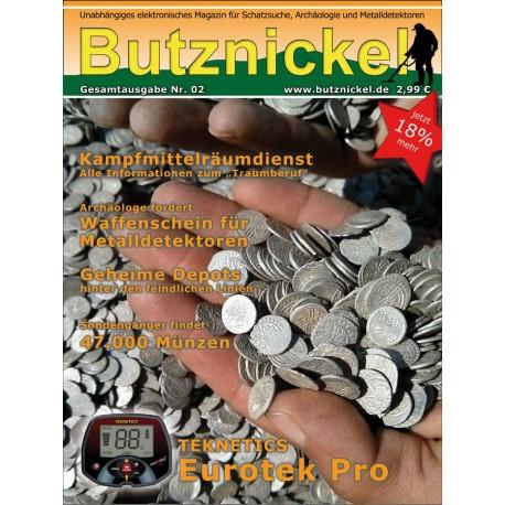 Butznickel Nr.2 Schatzsucher Magazin