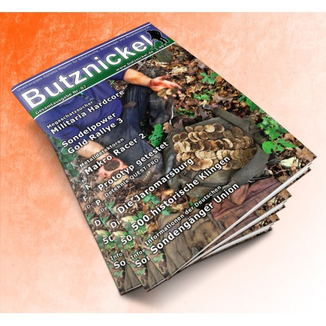 Butznickel Nr.7 Schatzsucher Magazin (PDF/Ebook)