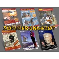 Sommerangebot: 6 Ausgaben - Das Schatzsucher Magazin - DSM 6,7,8,10,11,12