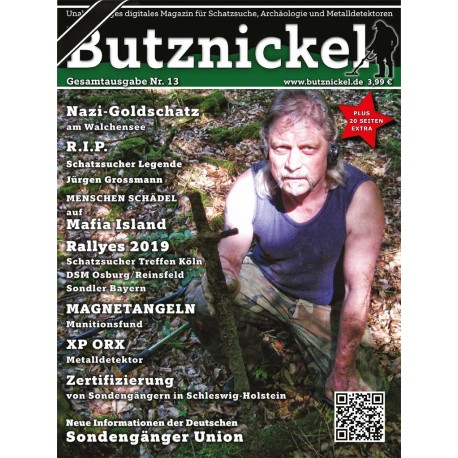Butznickel Nr.13 Schatzsucher Magazin (PDF/Ebook)