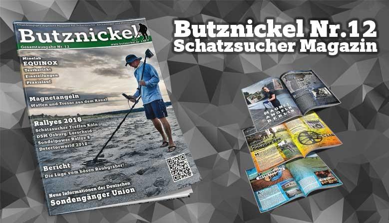 Butznickel Nr.12 Schatzsucher Magazin
